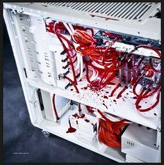 bloody computer tower    http://imgur.com/a/h1Wks#