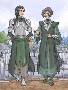 Master and Protege by Terra7.deviantart.com on @DeviantArt