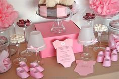 Cute baby shower stuff if the Carleys have a girl!!
