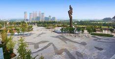 Cultural-Plaza-Park-01 « Landscape Architecture Works | Landezine