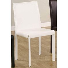 <li>Update your dining or living room with sleek dining chairs</li><li>Furniture is the ideal addition to any modern inspired home</li><li>Chairs features upholstered legs to complete the design</li>