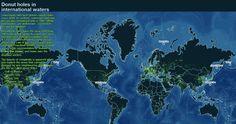 Mapa Mundial de las Fronteras Marítimas