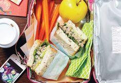 sandwich salade thon