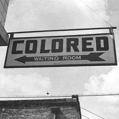"Rome Georgia. September 1943. Esther Bubley photographer. ""A sign at the Greyhound bus station."" Sign: ""Colored Waiting Room.""   Images from America's dark history. This was only 77 years ago.   NEVER FORGET.   #blacklivesmatter #BLM #endracism #justiceforgeorgefloyd #justiceforbreonnataylor #justiceforElijahMcClain #endpolicebrutality #EndQualifiedImmunity #icantbreathe #racismsucks Black History Month, Kings & Queens, Rome Georgia, Freedom Riders, Freedom Fighters, Jim Crow, Thing 1, Rosa Parks, Civil Rights Movement"