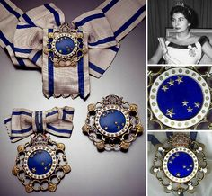 unbelievable blue stones...gorgeous! Queen Soraya of Iran, wife of the Shah of Iran.