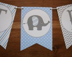 Elephant Baby Shower Decorations - Elephant Baby Shower Banner - Boy Baby Shower Banner - Elephant Pennant Banner - Elephant Decorations - Reality Worlds Tactical Gear Dark Art Relationship Goals Elephant Baby Shower Centerpieces, Baby Shower Bunting, Shower Banners, Baby Boy Shower, Baby Shower Decorations, Baby Shower Gifts, Elephant Decorations, Table Decorations, Baby Banners