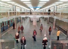 a hármas metró Nagyvárad téri állomása. Metroid, Budapest Hungary, Old Pictures, City, Landscapes, Childhood, Vehicles, Paisajes, Antique Photos