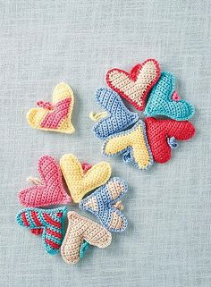 Everybody loves a romantic gift, so these handmade hearts are the perfect…
