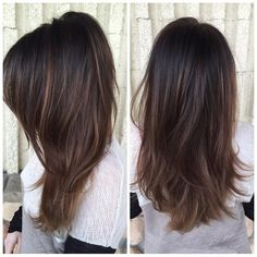 I like this soft brown with s touch of light honey blone
