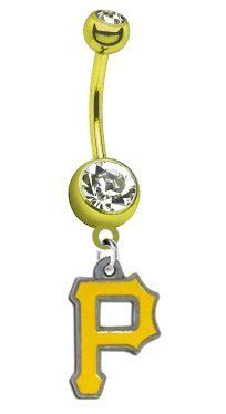 Pittsburgh Pirates PREMIUM Gold Titanium Anodized Sexy Belly Button Navel Ring CustomCharms,http://www.amazon.com/dp/B00CF0J5HM/ref=cm_sw_r_pi_dp_jZOUrbCB20C049B0