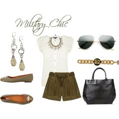 Outfit Ideas: How To Dress Military Chic This Summer - chic from hair 2 toe