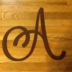 Custom Monogram Single Letter  Wreath Accessory  by AddieClaires, $10.00