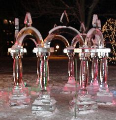arches ice carving