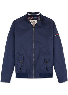 Hilfiger Denim Men's Thdm Basic Zipped Harrington 13 Jacket
