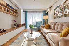 Home Library Design, Home Room Design, Home Interior Design, Living Room Designs, Living Room Wall Units, Living Room Interior, Home Living Room, Living Room Decor, Modern Apartment Decor