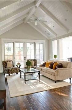 Design Living Room, Paint Colors For Living Room, New Living Room, Living Room Furniture, Wood Furniture, White Furniture, Modern Furniture, Living Spaces, Cozy Living