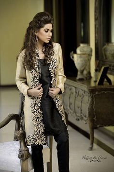 Sana-Salman-Exclusive-Party-Wear-Dresses-2014-for-Women-18