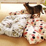 DIY floor pillows or dog beds - Large size may just work!