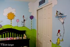 Dr. Seuss inspired nursery.  (This is more along the lines of what I was looking for originally)