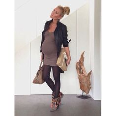 inspiraçãp street fashion maternity - Estilo Criativo