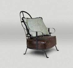 BAXTER Chassis Armchair