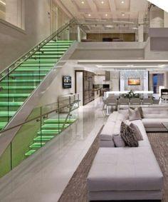 Beautiful luxury modern house design interior ideas Source by Luxury Modern Homes, Luxury Homes Dream Houses, Dream House Interior, Dream Home Design, Luxury Home Decor, Modern House Design, Modern Interior Design, Interior Ideas, Modern Mansion Interior