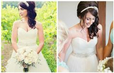 Bridal hairstyles for long hair - style 9