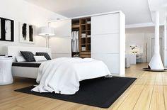 Спальня и гостиная в одной комнате #scandinavianinterior #homedecor