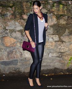 DN: Sultry in Stripes - Jalisa's Fashion Files