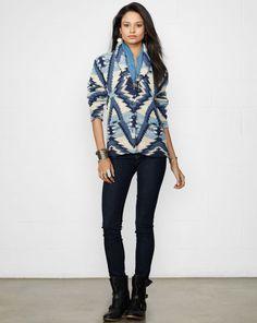 Long-Sleeved Shawl Cardigan - Denim & Supply  Cardigans - RalphLauren.com