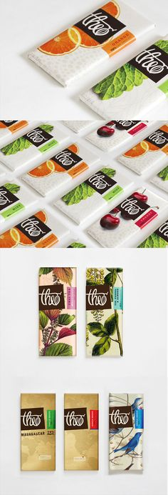 Theo Chocolate Branding and Packaging by Ashley Parker