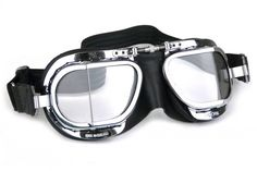 Halcyon Classic parts - Compact Deluxe Motorcycle goggles