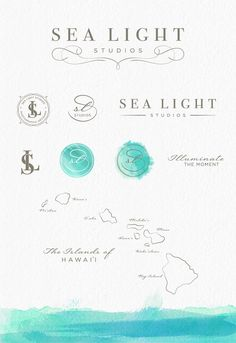 restaurants branding watercolor - Google Search