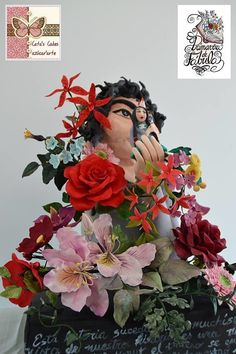 Beautiful legend Tehuelche of the origin of all the flowers - Cake by Cata's Cakes