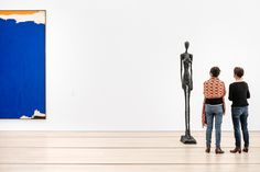 Alberto Giacometti sculpture Grande femme III bronze cast at the Fondation Beyeler in Basel, Switzerland. Shot for Monocle travel guide. Alberto Giacometti, Basel, Museums, Art Museum, Switzerland, Galleries, Travel Guide, It Cast, Bronze