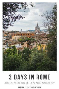 See the best of Rome with this Italy travel guide! Only have three days in Rome? Here's how to see the most famous sights and best hidden gems. Best Of Rome, Best Of Italy, Honeymoon Planning, Trip Planning, 3 Days In Rome, Holiday Accommodation, Worldwide Travel, Outdoor Camping, Italy Travel