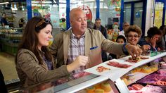 Andrea Smith and Andrew Zimmern in Lisbon : Bizarre Foods : TravelChannel.com