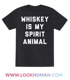 In the evening, and sometimes in my morning coffee, you'll find my spirit animal. Whiskey, guide my spirit!