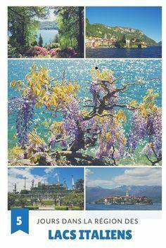 Itinéraire de 5 jours complets dans la région des Lacs Italiens