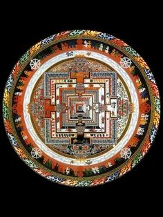 Kalachakra -Mandala de areia