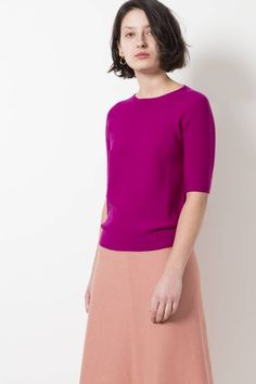 Molli ari 100% ultra-fine pure new wool seamless top - wendela van dijk