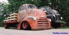 Original and Kustom Chevy COE 10 | by DiedelsonKustoms