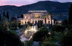 The gorgeous Villa Ephrussi de Rothschild, Saint-Jean-Cap-Ferrat, France