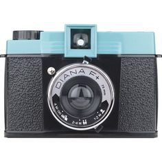 Lomography Diana F+ Camera without Flash   Black/Teal