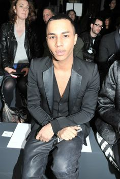 Olivier Rousteing [Photo by Stéphane Feugère]