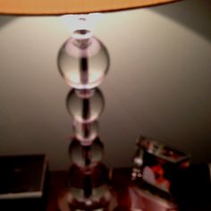 The lamp I scored at Marshalls for the bedrm