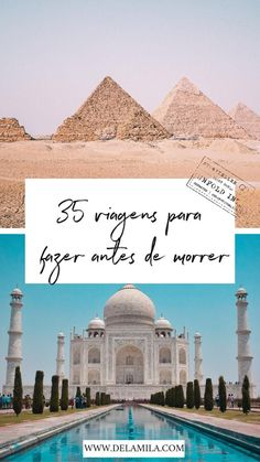 Bucket list: 35 ideias de viagens para fazer antes de morrer Do you know which trips you would like to make before you die? Sounds a bit morbid, right? But I've always believed that putting our pl Travel Goals, Travel Advice, Us Travel, Places To Travel, Travel Destinations, Places To Go, Travel Ideas, Places Around The World, Travel Around The World
