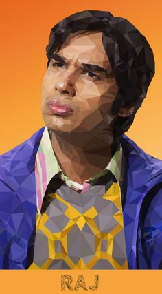Artist-of-the-Week-Awesome-Low-Poly-Illustrations-of-The-Big-Bang-Theory-Cast-by-Mordi-Levi-4.jpg (600×1086)