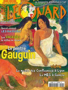 Le Petit Léonard n° 199 Gauguin - Les singeries - Les cabinets de curiosités