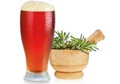 Homebrew recipes using herbs from the garden